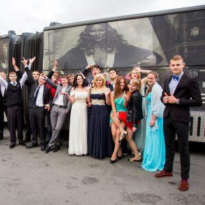 Танцевальный автобус пати бас